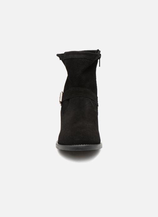 Bottines et boots Vero Moda VmDay leather boot Noir vue portées chaussures