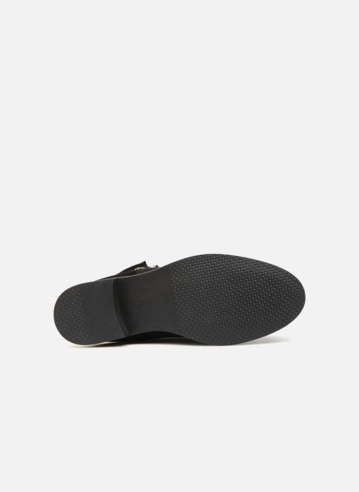 Bottines et boots Vero Moda VmDay leather boot Noir vue haut