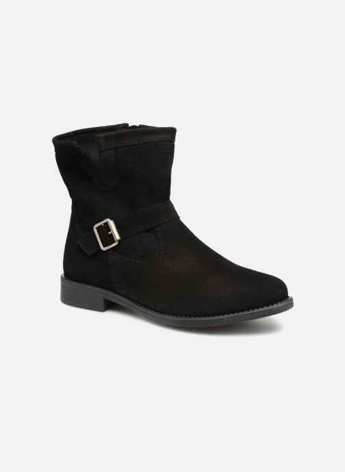 Bottines et boots Vero Moda VmDay leather boot Noir vue détail/paire