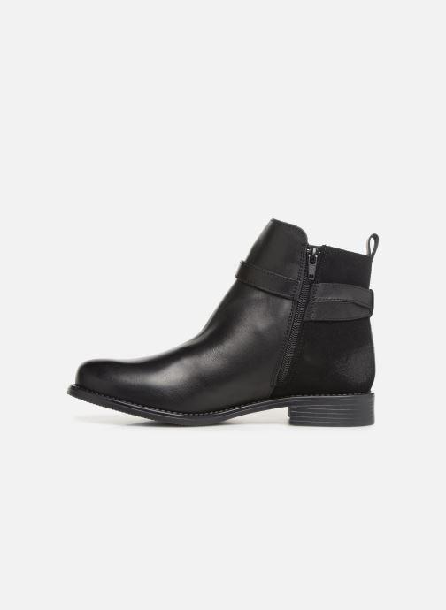 Stivaletti e tronchetti Vero Moda VmJuliette leather boot Nero immagine frontale