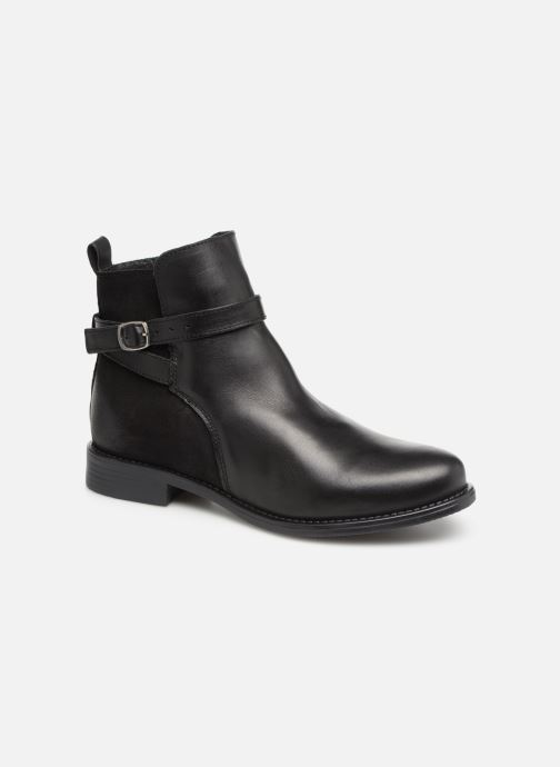 Bottines et boots Vero Moda VmJuliette leather boot Noir vue détail/paire