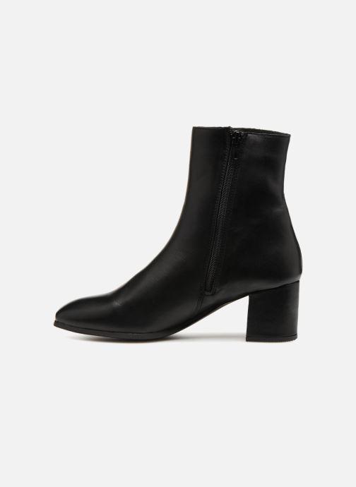 Stiefeletten & Boots Vero Moda VmKila leather boot schwarz ansicht von vorne
