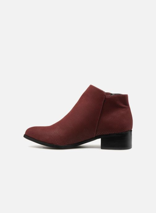 Bottines et boots Vero Moda VmMari boot Bordeaux vue face