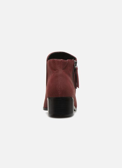 Bottines et boots Vero Moda VmMari boot Bordeaux vue droite