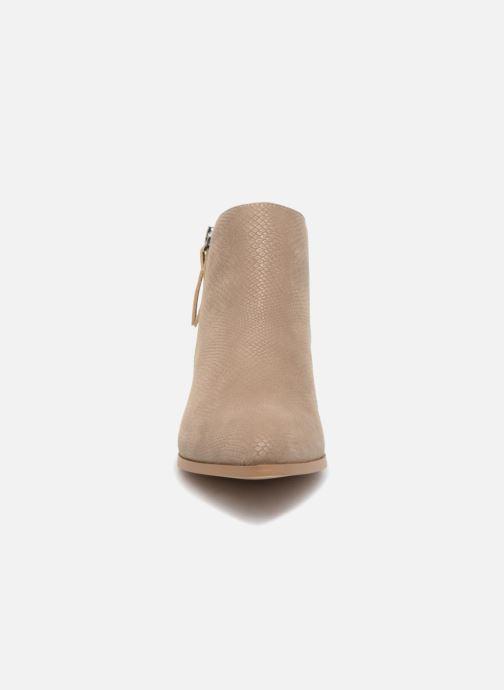 Bottines et boots Vero Moda VmMari boot Beige vue portées chaussures