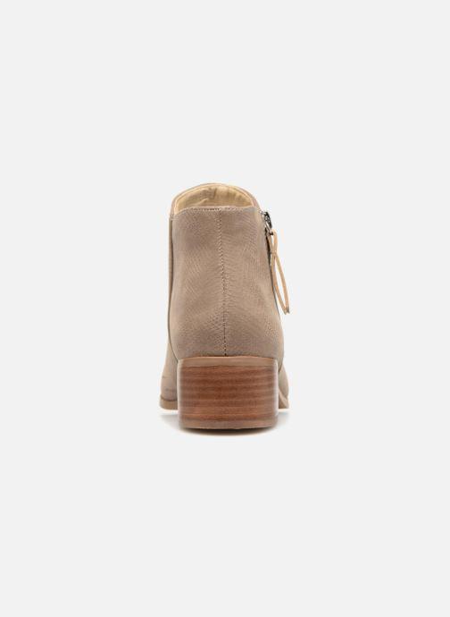 Boots en enkellaarsjes Vero Moda VmMari boot Beige rechts