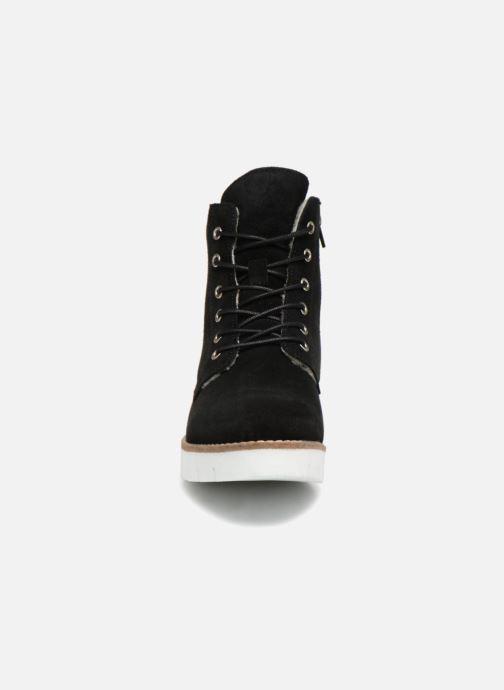 Bottines et boots Vero Moda VmMella leather boot Noir vue portées chaussures