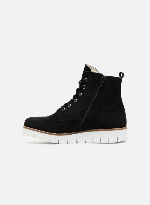 Bottines et boots Vero Moda VmMella leather boot Noir vue face