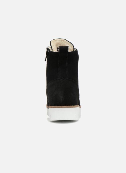 Bottines et boots Vero Moda VmMella leather boot Noir vue droite