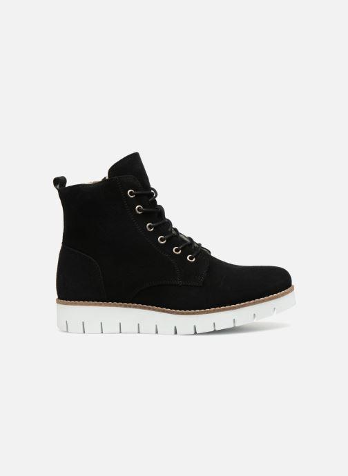 Bottines et boots Vero Moda VmMella leather boot Noir vue derrière