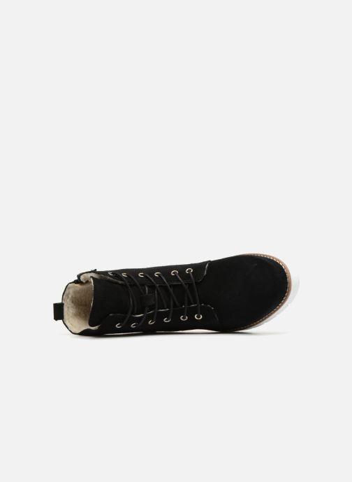 Bottines et boots Vero Moda VmMella leather boot Noir vue gauche