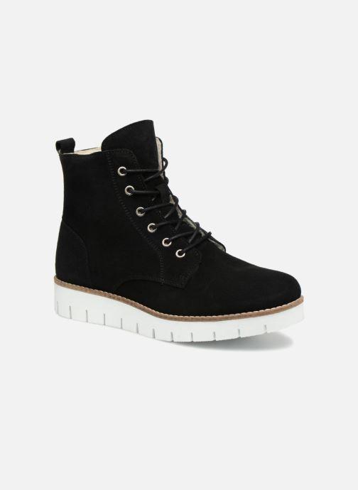 Bottines et boots Vero Moda VmMella leather boot Noir vue détail/paire