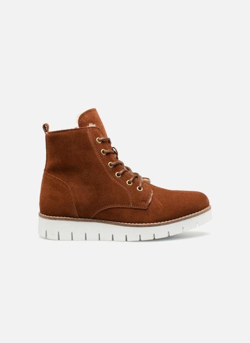 Boots en enkellaarsjes Vero Moda VmMella leather boot Bruin achterkant