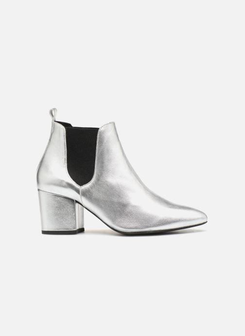 Ankelstøvler Vero Moda VmNice leather boot Sølv se bagfra