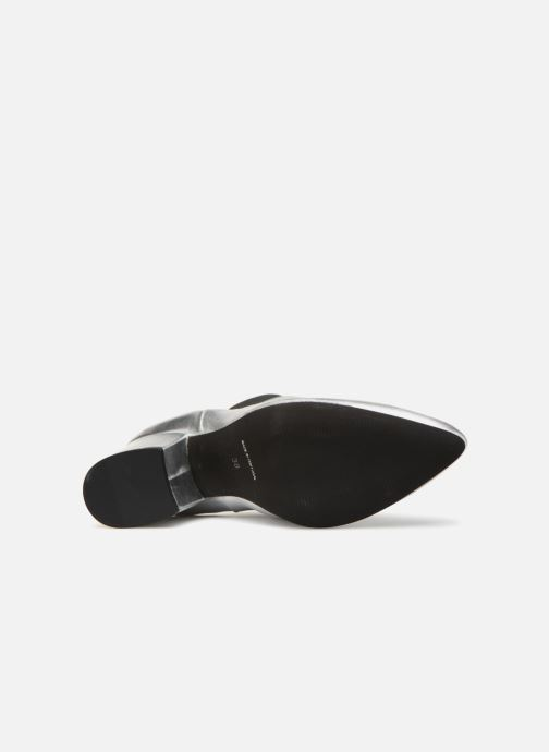 Ankelstøvler Vero Moda VmNice leather boot Sølv se foroven