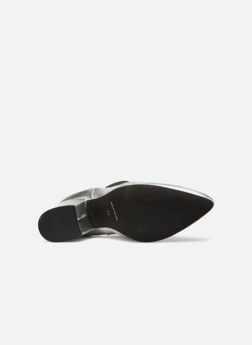 Boots en enkellaarsjes Vero Moda VmNice leather boot Zilver boven