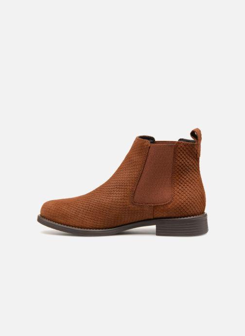 Bottines et boots Vero Moda VmNilla Leather boot Marron vue face
