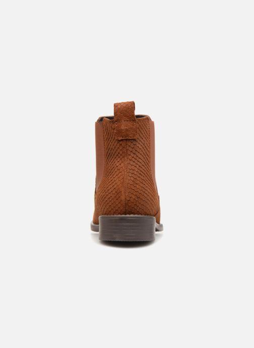 Bottines et boots Vero Moda VmNilla Leather boot Marron vue droite