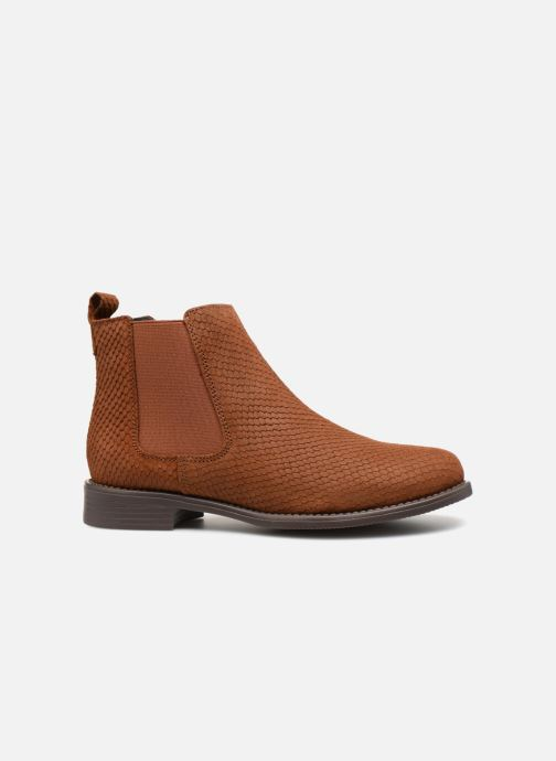 Bottines et boots Vero Moda VmNilla Leather boot Marron vue derrière