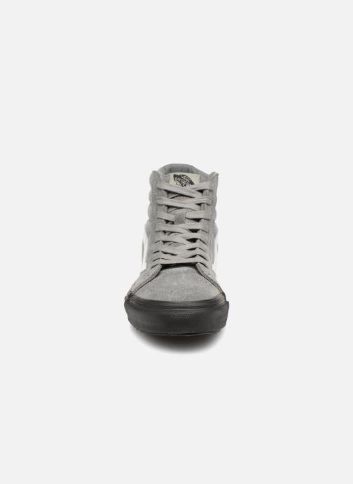 9d20f5ed67970 Baskets Vans Sk8-Hi Reissue Wafflesaw DX W Gris vue portées chaussures