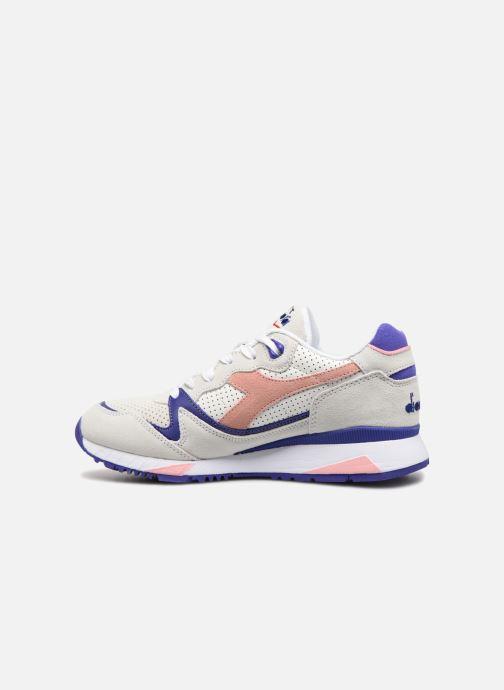 Sneaker Diadora V7000 Premium W grau ansicht von vorne