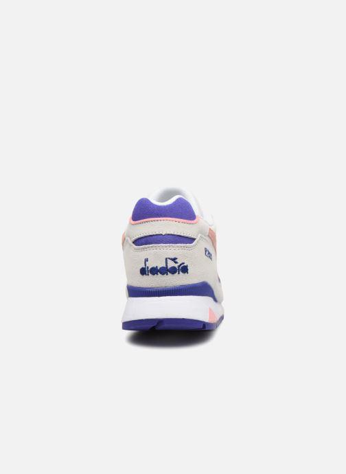 Sneaker Diadora V7000 Premium W grau ansicht von rechts