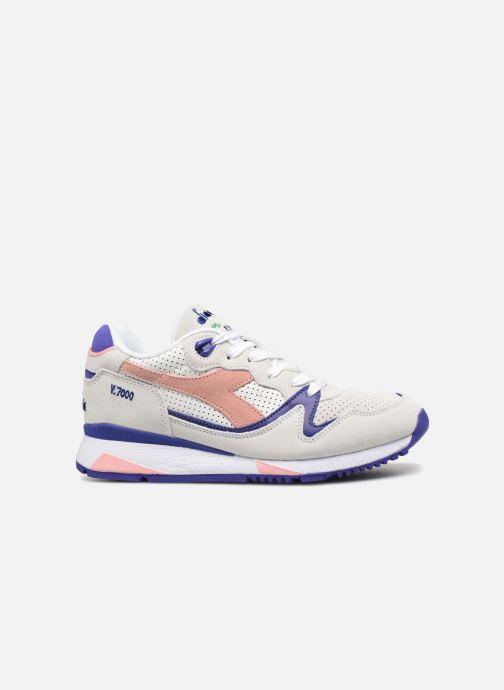 Sneakers Diadora V7000 Premium W Grijs achterkant