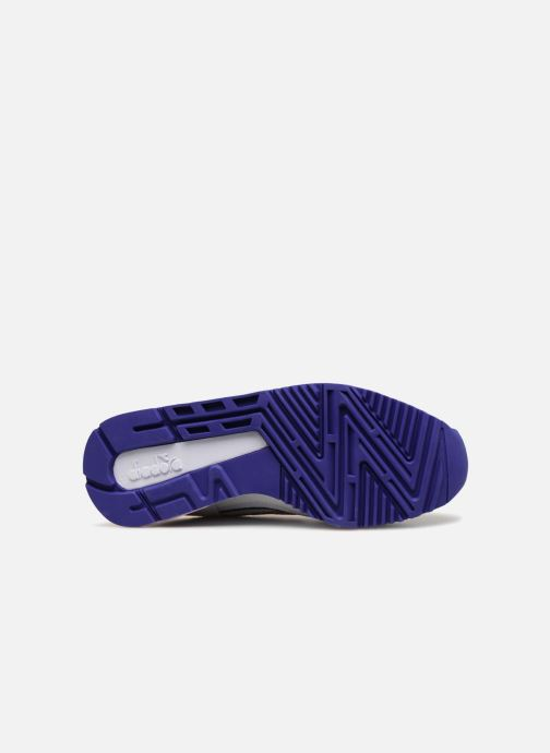 Sneaker Diadora V7000 Premium W grau ansicht von oben
