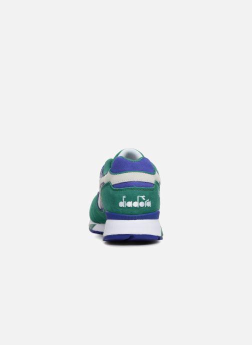 Baskets Diadora V7000 Premium Vert vue droite