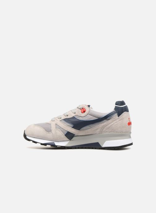 Sneaker Diadora N9000 Italia grau ansicht von vorne