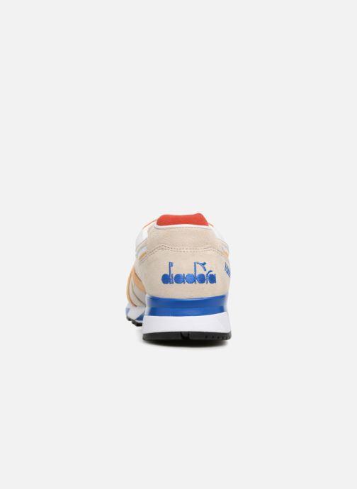Baskets Diadora N9000 Italia Beige vue droite