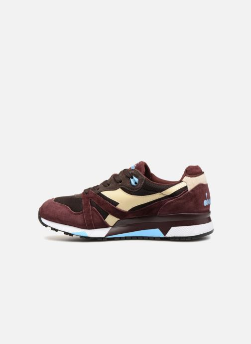 Baskets Diadora N9000 Italia Marron vue face