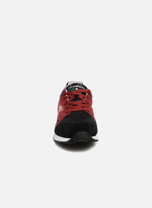 Sneaker Diadora N9000 Italia rot schuhe getragen