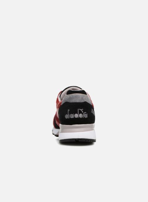 Sneaker Diadora N9000 Italia rot ansicht von rechts