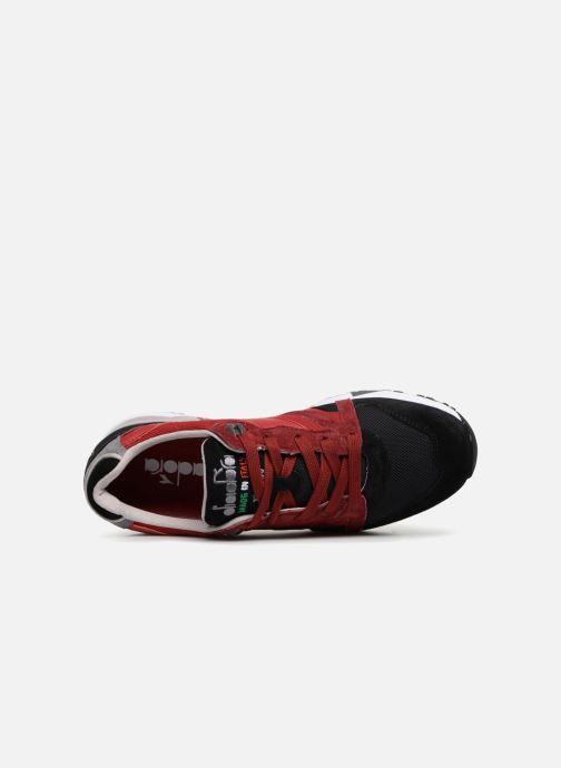 Sneaker Diadora N9000 Italia rot ansicht von links