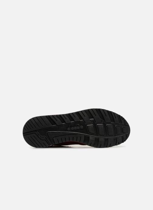 Sneaker Diadora N9000 Italia rot ansicht von oben
