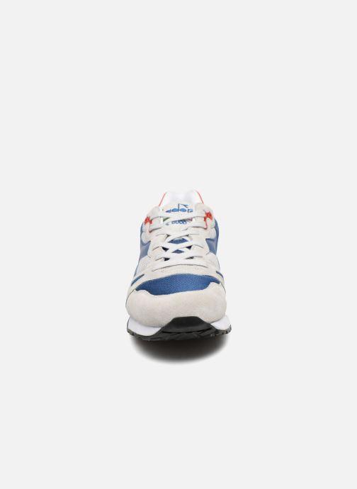 Baskets Diadora S8000 Nyl Italia Gris vue portées chaussures