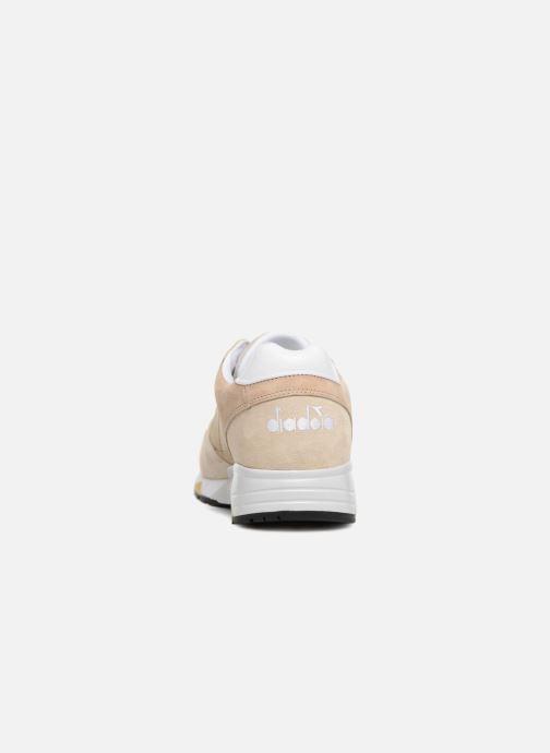 Sneaker Diadora S8000 Italia beige ansicht von rechts