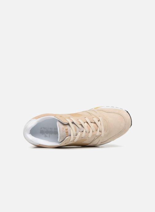 Sneaker Diadora S8000 Italia beige ansicht von links