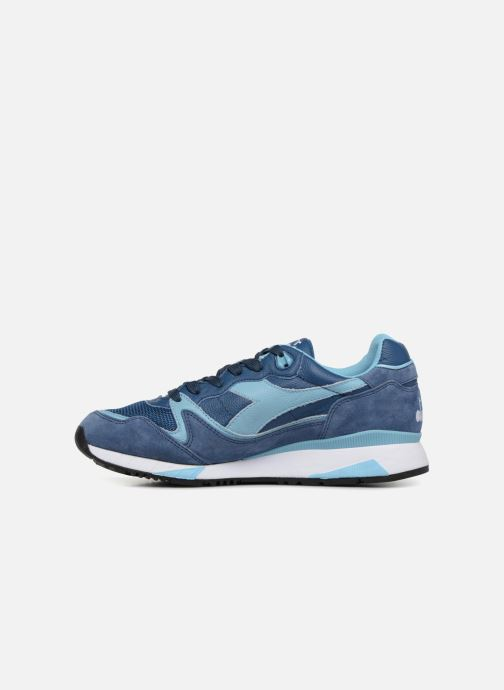 Sneaker Diadora V7000 Italia blau ansicht von vorne