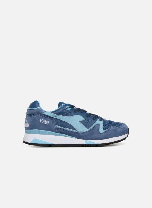 Sneaker Diadora V7000 Italia blau ansicht von hinten