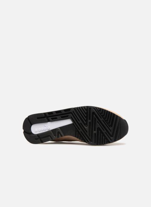 Sneaker Diadora V7000 Italia beige ansicht von oben