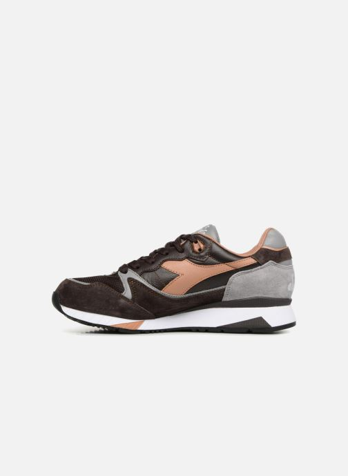 Baskets Diadora V7000 Italia Marron vue face