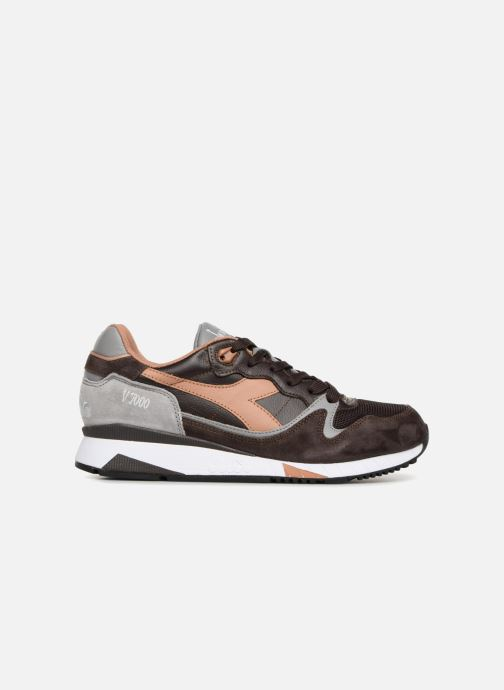 Trainers Diadora V7000 Italia Brown back view