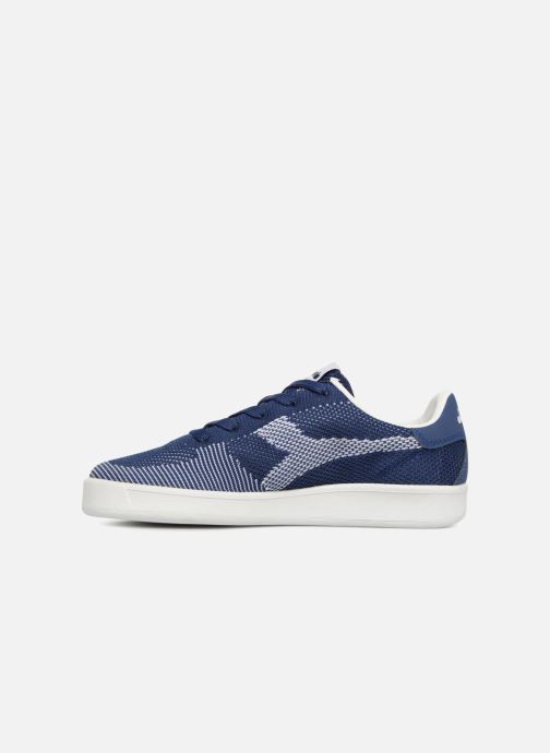 Baskets Diadora B.Elite spw weave W Bleu vue face