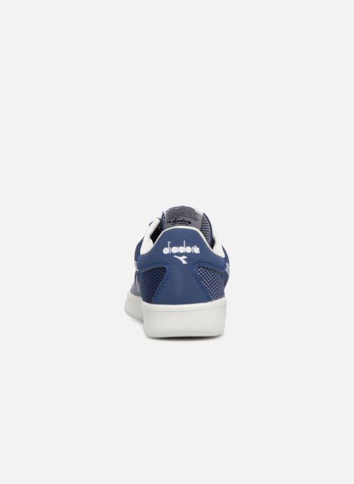 Baskets Diadora B.Elite spw weave W Bleu vue droite