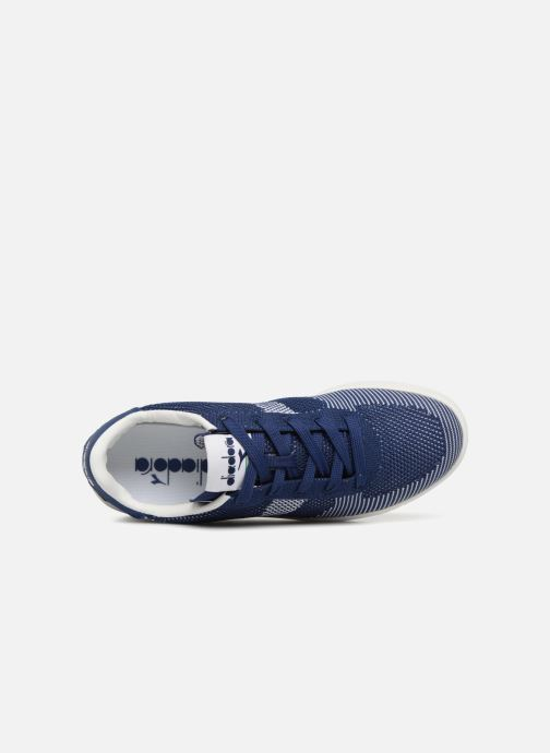 Baskets Diadora B.Elite spw weave W Bleu vue gauche