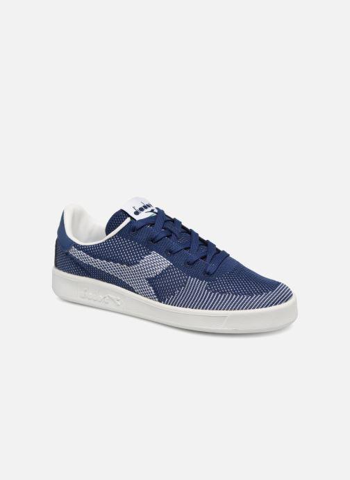 Baskets Diadora B.Elite spw weave W Bleu vue détail/paire