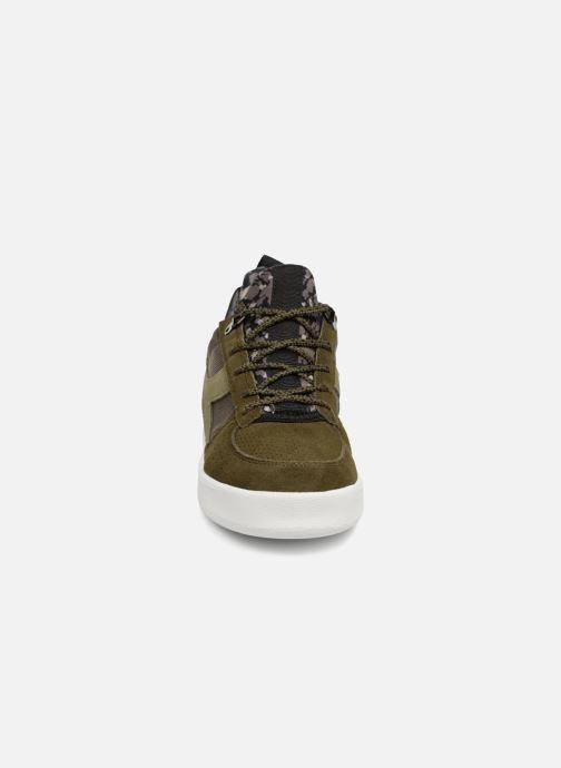 Baskets Diadora B.Elite camo socks Vert vue portées chaussures