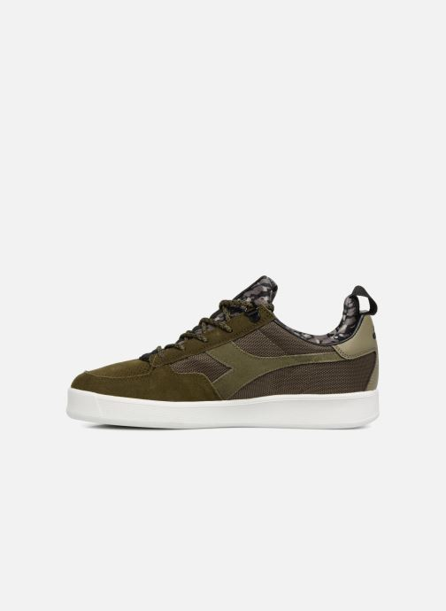 Sneaker Diadora B.Elite camo socks grün ansicht von vorne